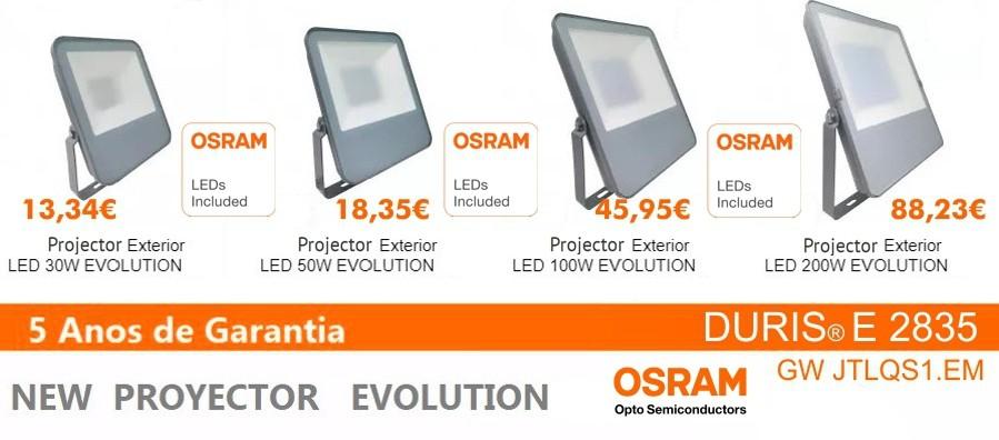 Novo Projector OSRAM Chip Evolution 5 anos de Garantia