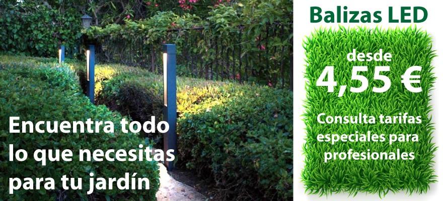 Todo para tu jardín en arealed: balizas led de exterior