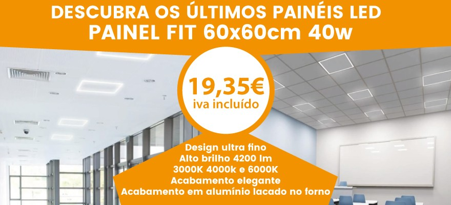 Descubre lo ultimo en paneles led, nuestro fit panel de 60x60 40w